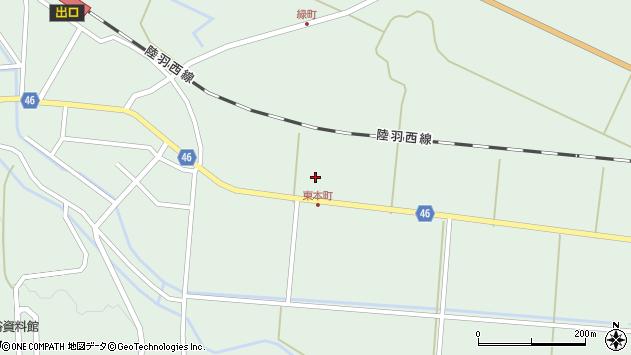 山形県東田川郡庄内町狩川堂ノ下4周辺の地図