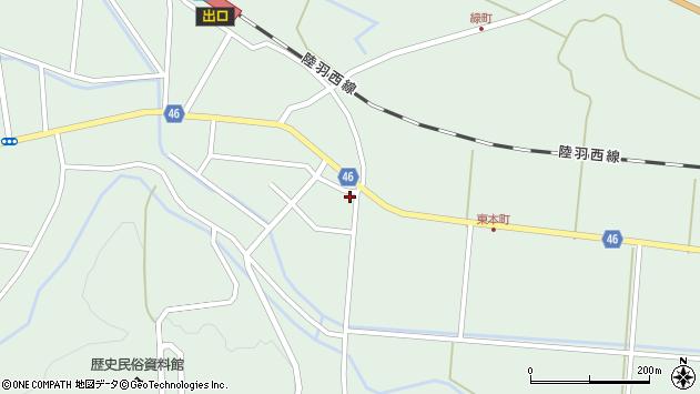 山形県東田川郡庄内町狩川山居35周辺の地図