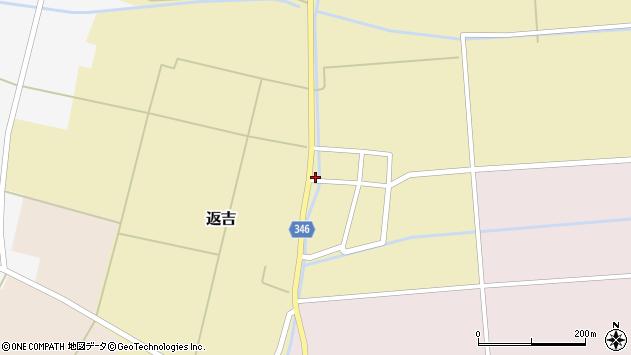 山形県東田川郡庄内町返吉屋敷田3周辺の地図