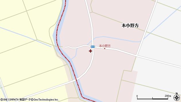 山形県東田川郡庄内町本小野方東割51周辺の地図