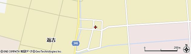 山形県東田川郡庄内町返吉大上49周辺の地図
