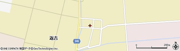 山形県東田川郡庄内町返吉大上51周辺の地図