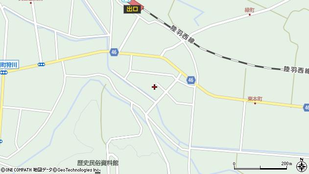 山形県東田川郡庄内町狩川山居53周辺の地図