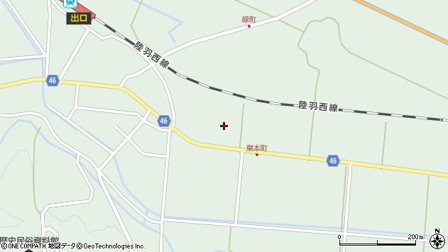 山形県東田川郡庄内町狩川堂ノ下9周辺の地図