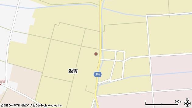 山形県東田川郡庄内町返吉屋敷田20周辺の地図