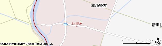 山形県東田川郡庄内町本小野方東割32周辺の地図