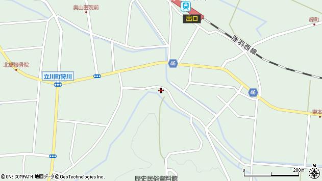 山形県東田川郡庄内町狩川楯山139周辺の地図