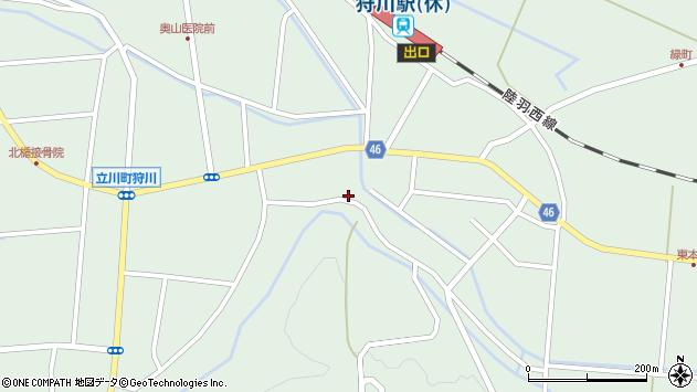 山形県東田川郡庄内町狩川楯下10周辺の地図