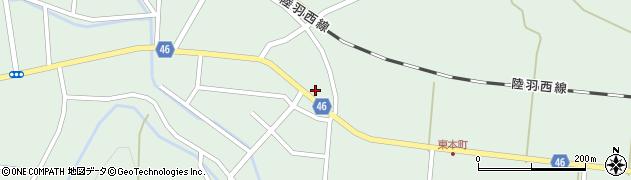 山形県東田川郡庄内町狩川今岡24周辺の地図