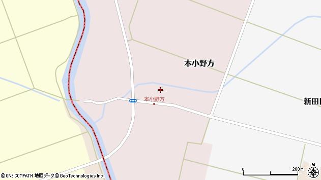 山形県東田川郡庄内町本小野方東割35周辺の地図