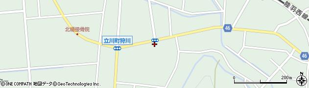 山形県東田川郡庄内町狩川楯下43周辺の地図