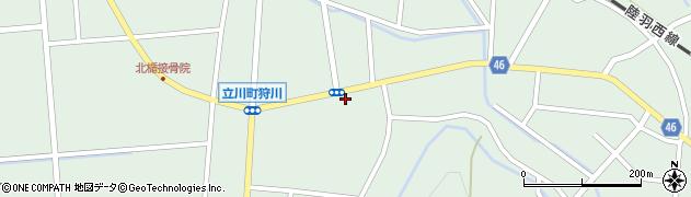 山形県東田川郡庄内町狩川楯下41周辺の地図