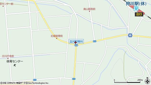 山形県東田川郡庄内町狩川小野里2周辺の地図
