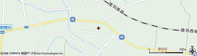 山形県東田川郡庄内町狩川今岡34周辺の地図