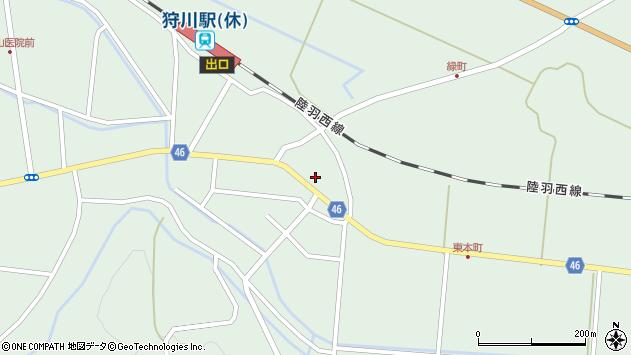 山形県東田川郡庄内町狩川今岡27周辺の地図