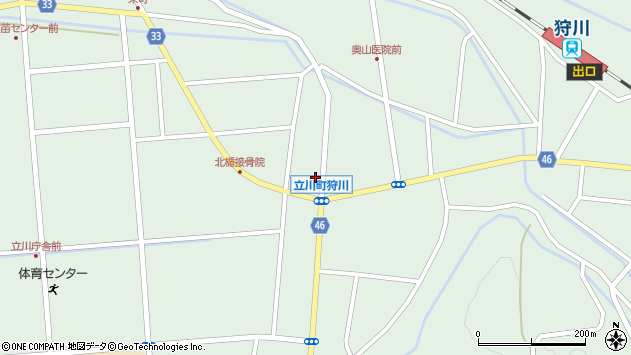 山形県東田川郡庄内町狩川小野里6周辺の地図