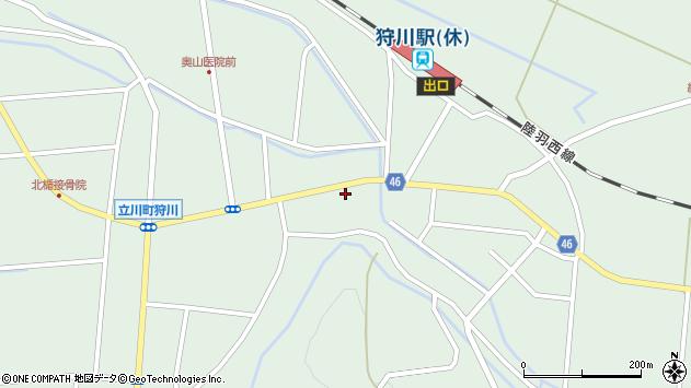 山形県東田川郡庄内町狩川楯下18周辺の地図