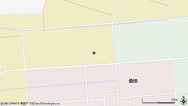 山形県東田川郡庄内町桑田六十間周辺の地図