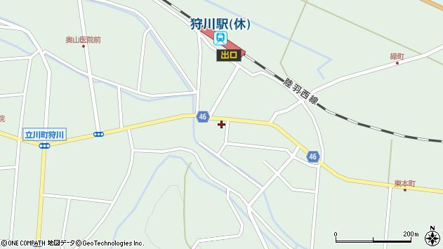 山形県東田川郡庄内町狩川今岡56周辺の地図