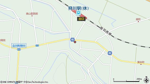 山形県東田川郡庄内町狩川今岡59周辺の地図