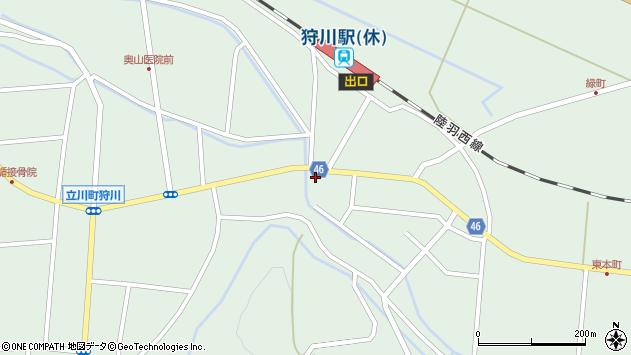 山形県東田川郡庄内町狩川今岡63周辺の地図