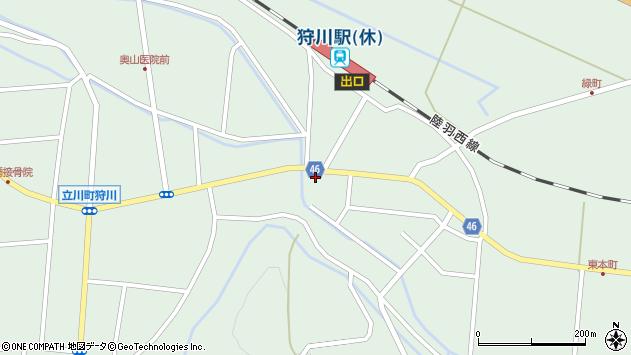山形県東田川郡庄内町狩川今岡62周辺の地図