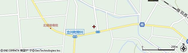 山形県東田川郡庄内町狩川小野里53周辺の地図
