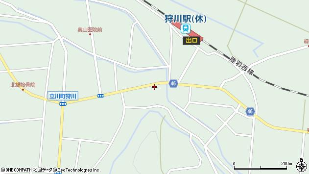 山形県東田川郡庄内町狩川楯下12周辺の地図