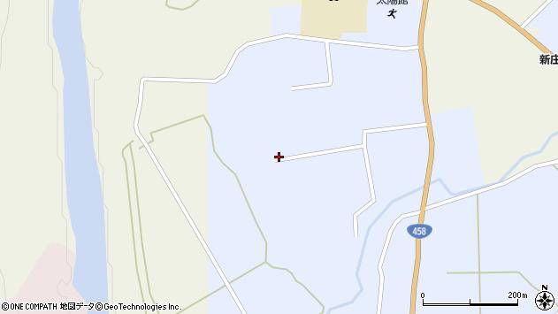 山形県最上郡鮭川村川口4455周辺の地図