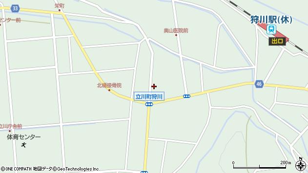山形県東田川郡庄内町狩川小野里41周辺の地図