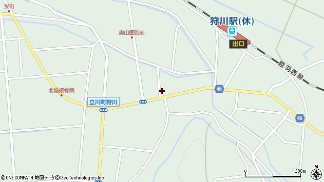 山形県東田川郡庄内町狩川小野里60周辺の地図