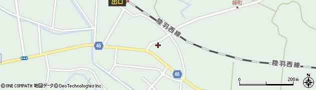 山形県東田川郡庄内町狩川今岡14周辺の地図