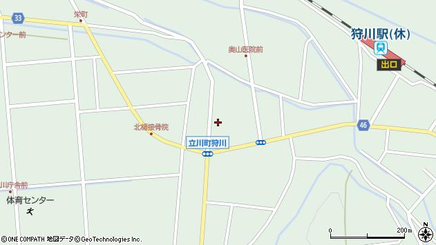 山形県東田川郡庄内町狩川小野里40周辺の地図