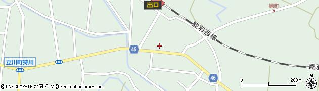 山形県東田川郡庄内町狩川今岡46周辺の地図