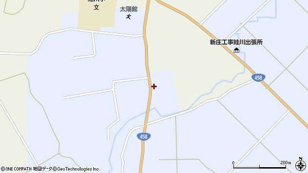 山形県最上郡鮭川村川口2826周辺の地図
