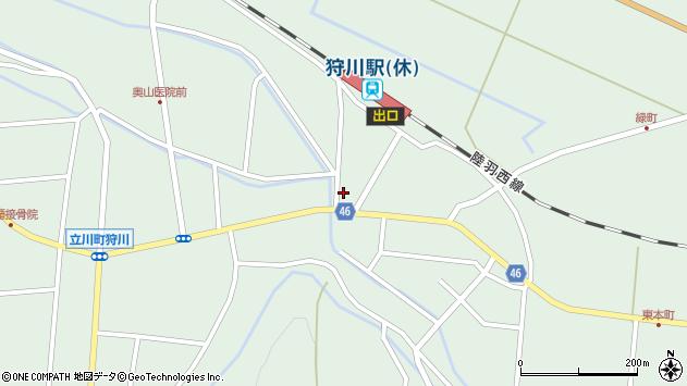山形県東田川郡庄内町狩川今岡64周辺の地図