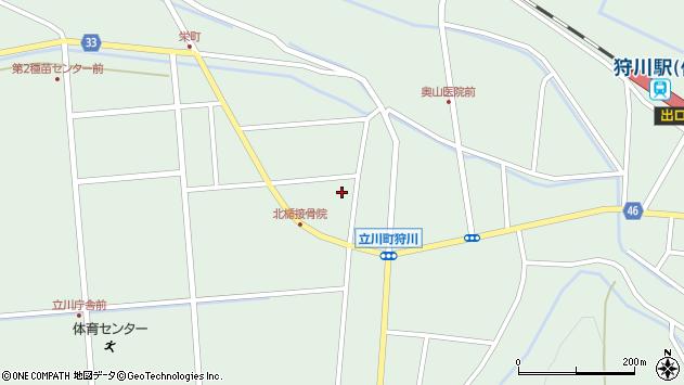 山形県東田川郡庄内町狩川西裏2周辺の地図