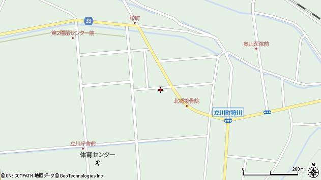 山形県東田川郡庄内町狩川大釜52周辺の地図