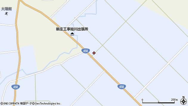 山形県最上郡鮭川村川口2953周辺の地図