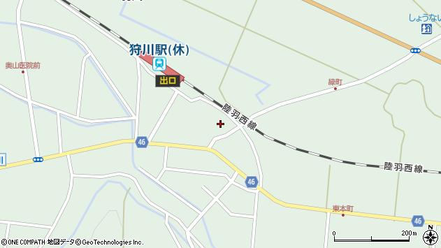山形県東田川郡庄内町狩川今岡80-1周辺の地図
