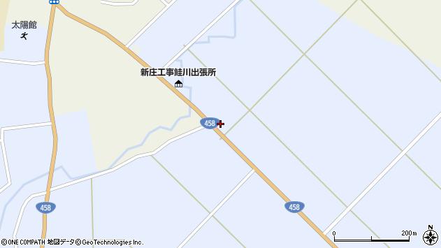 山形県最上郡鮭川村川口2954周辺の地図