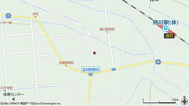 山形県東田川郡庄内町狩川小野里35周辺の地図