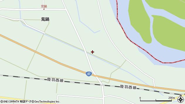 山形県東田川郡庄内町狩川下川原田46周辺の地図