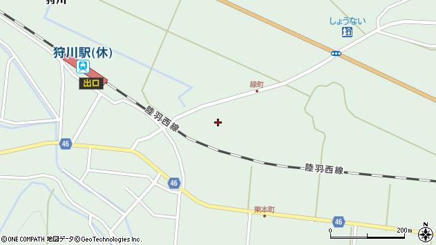 山形県東田川郡庄内町狩川堂ノ下24周辺の地図