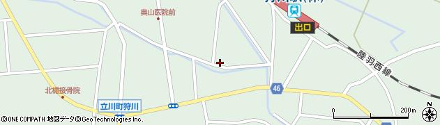 山形県東田川郡庄内町狩川小野里84周辺の地図