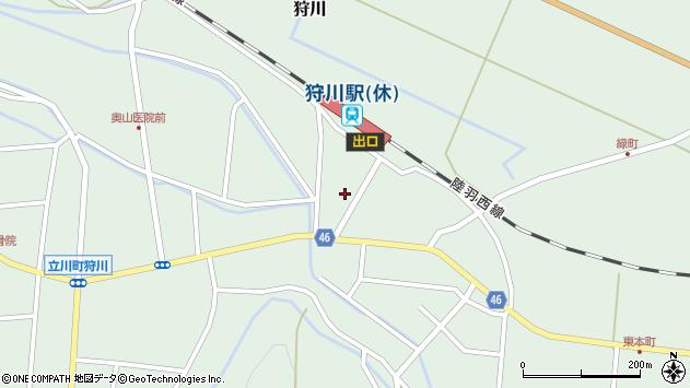 山形県東田川郡庄内町狩川今岡68周辺の地図