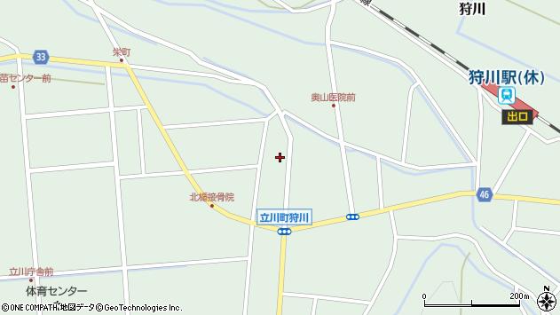 山形県東田川郡庄内町狩川小野里17周辺の地図