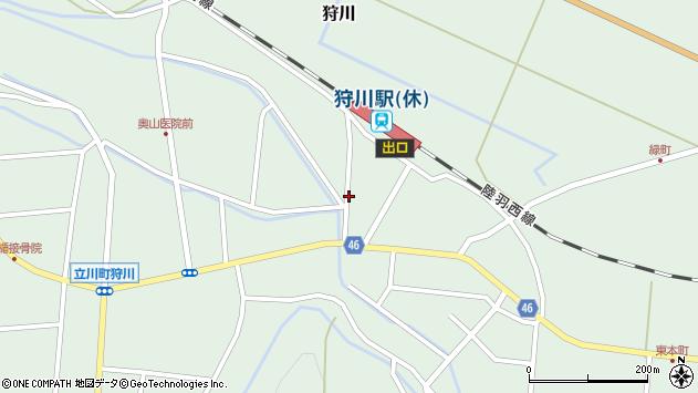 山形県東田川郡庄内町狩川今岡66周辺の地図