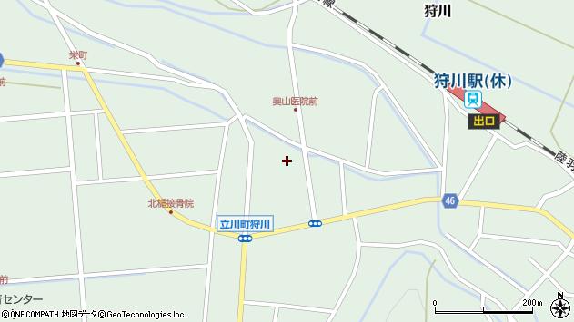 山形県東田川郡庄内町狩川小野里143周辺の地図