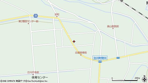 山形県東田川郡庄内町狩川西田114周辺の地図